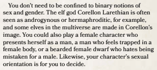 D&D 5th Edition On Gender Part 2